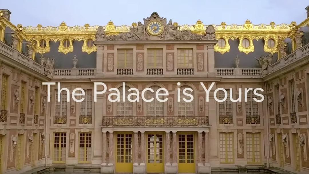 Le château de Versailles depuis votre canapé